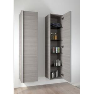Riho grande armoire de douche andora en bois stratifi 50x35x137 4 cm pas - Grande armoire salle de bain ...