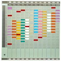 Val-Rex - Nobo Planning annuel Professionel français L, 660 x H, 645mm