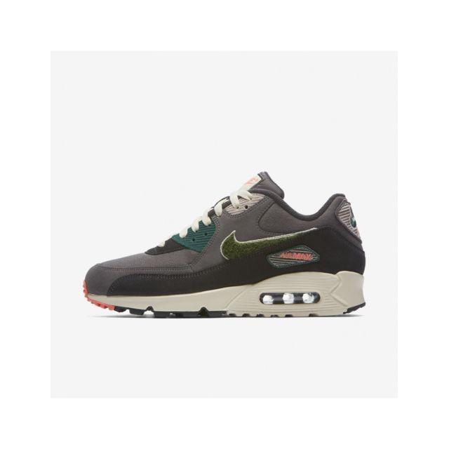 competitive price e9b6b ec0fe Nike - Air Max 90 Premium Se - 858954-002 - Age - Adulte, Couleur - Gris,  Genre - Homme, Taille - 45,5 - pas cher Achat   Vente Baskets homme - ...