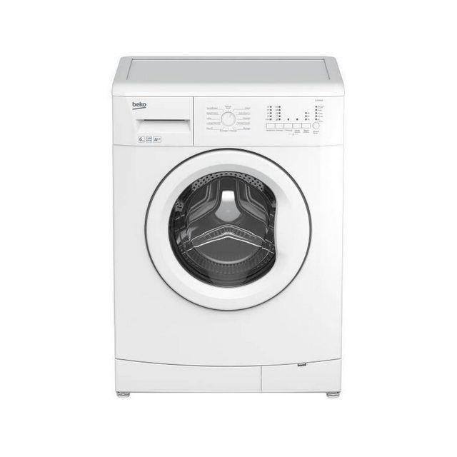 beko lave linge frontal 60cm 6kg 1000t a blanc wca100 achat lave linge hublot a. Black Bedroom Furniture Sets. Home Design Ideas