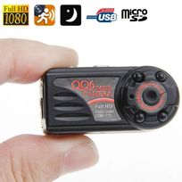 Yonis - Mini Caméra Espion 12MP photo vidéos vision nocturne Full Hd 1080P