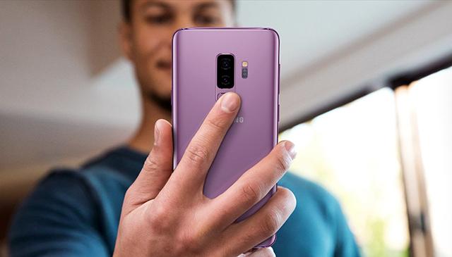 fingerprint au dos design s9