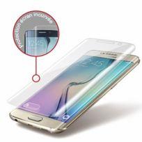Mocca - Design Film de protection d'écran anti casse incurve pour Samsung Galaxy S6 Edge