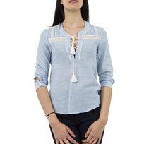 Ryujee - Tee shirt tim bleu S