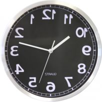Privatefloor - Horloge Murale Miroir Karlsson Style Taille unique