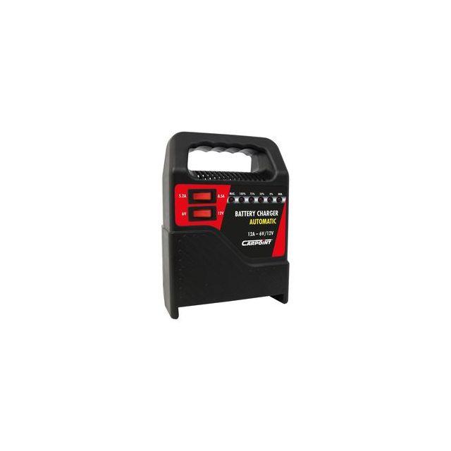 carpoint chargeur de batterie 12 amp voiture moto bateau 6v et 12v pas cher achat vente. Black Bedroom Furniture Sets. Home Design Ideas
