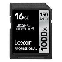 Lexar - 16GB Sdhc 1000x Uhs-ii