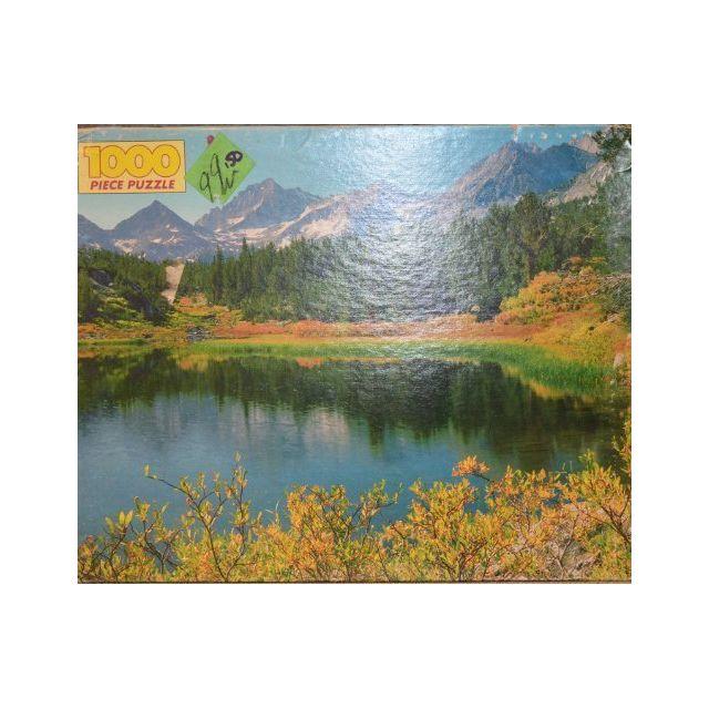 Golden 1000 Piece Puzzle Little Lakes Valley
