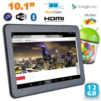 Yonis - Tablette tactile Android 4.2 10 pouces Dual Core Bluetooth Hdmi 12 Go