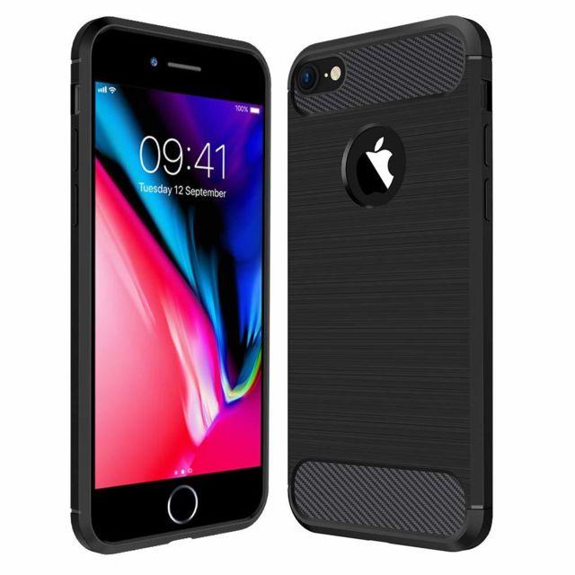 coque iphone 7 noir et or