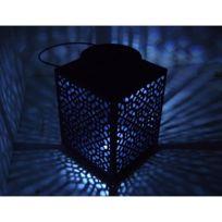 Mundus - Lanterne solaire en Métal hauteur 24.5cm Constantine