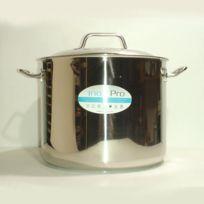 Baumalu - Traiteur Avec Couvercle 28 cm Inox 12,5 L Pro