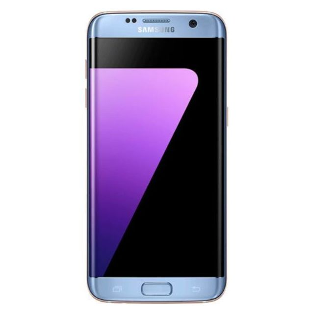 samsung galaxy s7 edge 32gb sm g935f blue pas cher achat vente smartphone android android. Black Bedroom Furniture Sets. Home Design Ideas