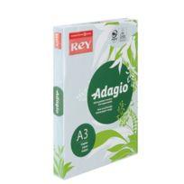 Rey - Ramette papier couleur Adagio couleurs pastel A3 80 gr - 500 feuilles - bleu
