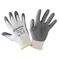 Honeywell - Gant anti-coupure Lycra enduction polyuréthane Perfect Cutting Grey Taille 9