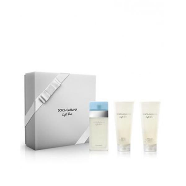 Dolce   Gabbana - Dg Light Blue Edt 100Ml + Bc + Sg 100Ml 100Ml ... a73a565951a3