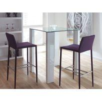 table de bar plateau verre - Achat table de bar plateau verre pas ...