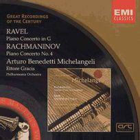 Emi Classics - Maurice Ravel   Serge Rachmaninov - Concerto pour piano en sol majeur   Concerto pour piano no. 4 en sol mineur opus 40
