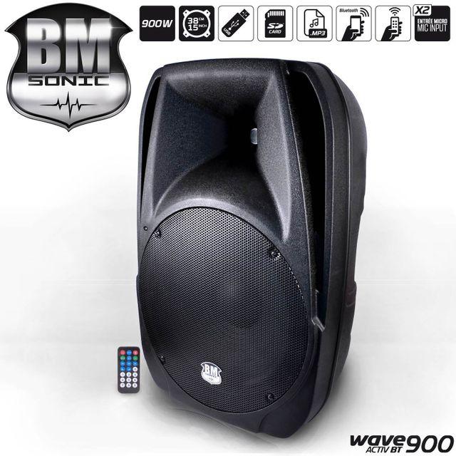 Bm Sonic Enceinte amplifiée 38cm/15