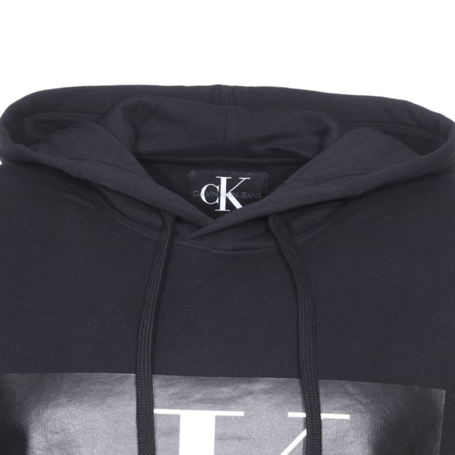 Calvin Klein Sweat à capuche Jeans Monogram Box Logo en