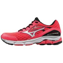 Mizuno - Wave Inspire 12 Rose Fluo Chaussures de running femme