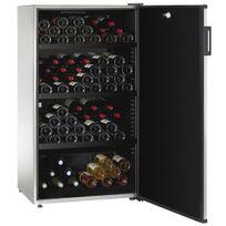 Climadiff - Cave à vin multi-usages - Multi-Températures - 170 bouteilles - Style Inox sans traces Aci-cli603-2 - Pose libre