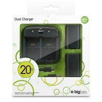 BIGBEN - XB360 KIT 2 BATTERIES 1 CABLE USB+ 2 CAPOTS + DOUBLE SOCLE DE CHARGE