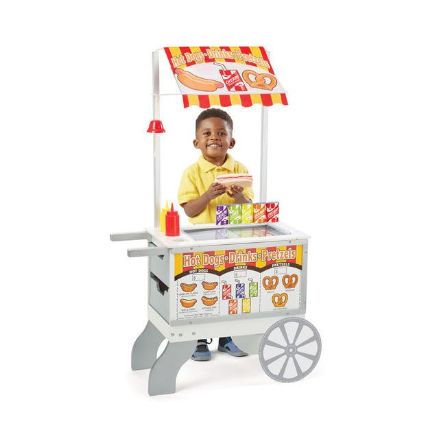 Melissa And Doug Chariot marchand 2 en 1 : Collations et Friandises - 9350