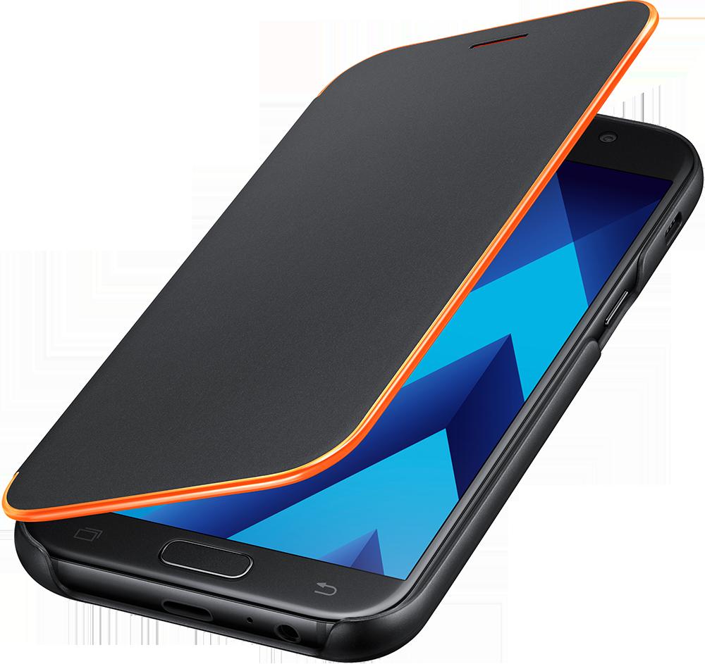 Etui Neon EF-FA520PB pour Galaxy A5 2017 Samsung Noir
