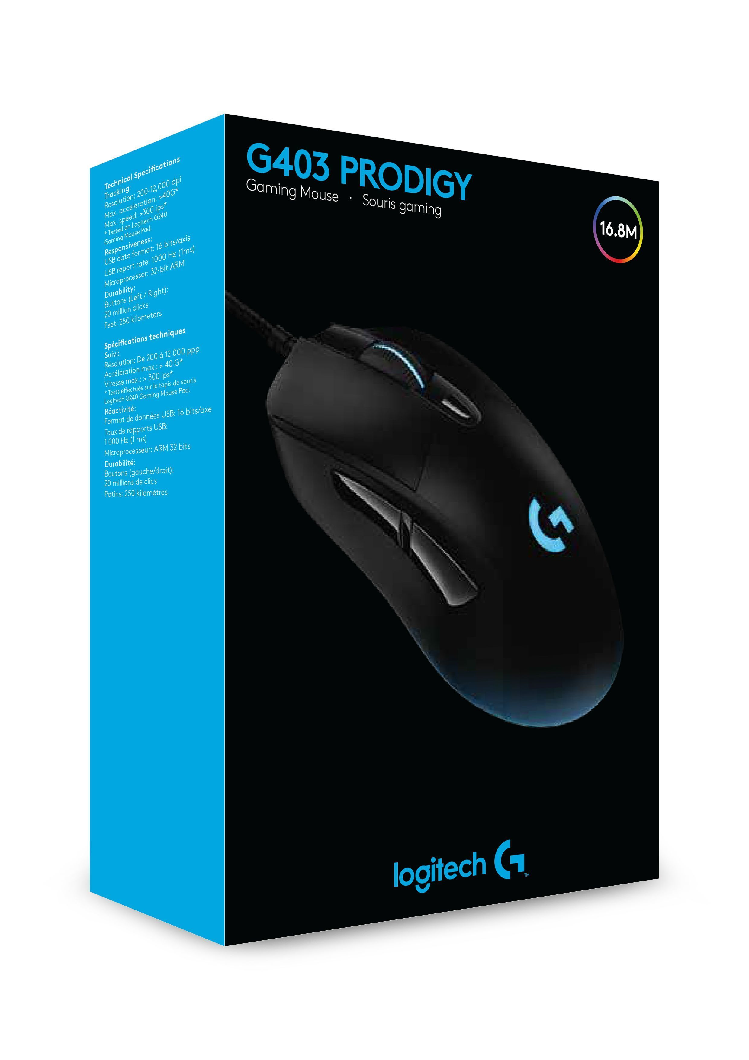 G403 Prodigy Wired Gaming Mouse