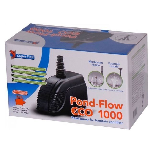 Superfish Pond Flow Eco 1000 1000L/H