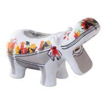 Top Choice - Big Hippo Mutual Friends Tirelire En Forme D'HIPPOPOTAME
