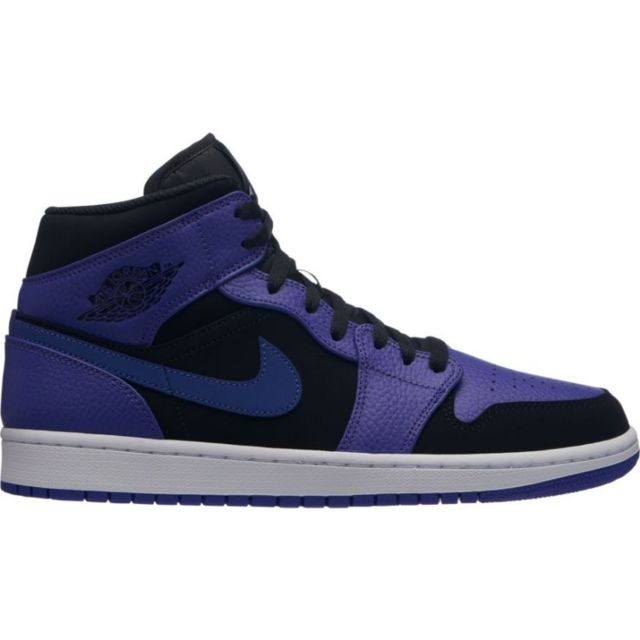 regarder 8eb28 aa2be Chaussure Air 1 Mid Noir Concord pour homme Pointure - 46