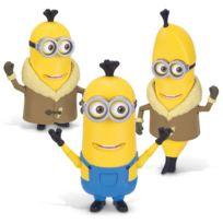 Mtw Toys - Figurine de luxe Minions : Build-A-Minion Arctic Kevin/Banana