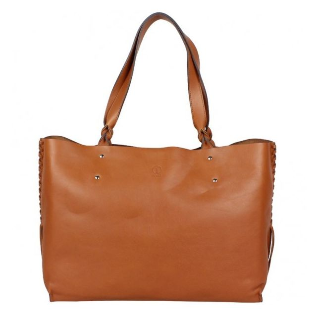 Fran Shopping Sac Main Souple Cuir Fabrication Aise Texier wZiTPklXuO
