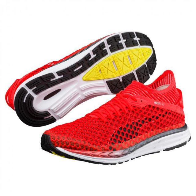 wholesale dealer 07141 4d718 Speed Vifblancnoir Pas Rouge Netfit Chaussures Ignite Puma 584Hzan