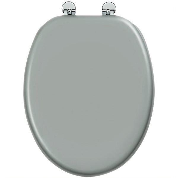 galedo abattant de toilette gris flashy en bois. Black Bedroom Furniture Sets. Home Design Ideas
