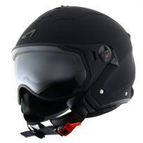Astone - Casque Minijet Sport Noir mat