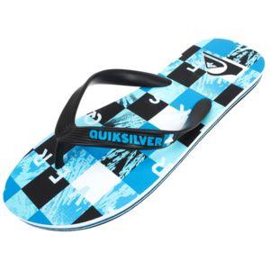 Quiksilver - Tongs claquettes Molokai check blue tong Bleu 79428
