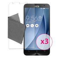 Caseink - Films de protection Asus Zenfone 2 5.5 , Clubcase® 3H Ultra Clear Hd Lot de 3