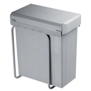 Wesco poubelle coulissante monobac 40 litres for Poubelle de cuisine coulissante monobac