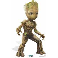 Bebe Gavroche - Figurine en carton Baby Groot souriant Gardiens de la Galaxie 2 93x50cm