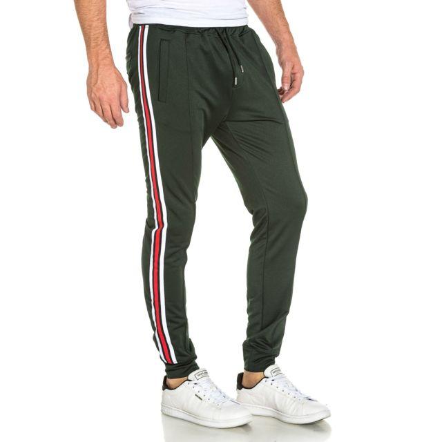 Project De Vert Luisant Colorées Avec Jogging Pantalon Bandes X Xl rBEwPCqr