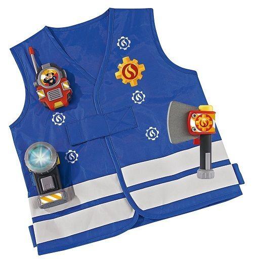 Simba Sam le pompier - Kit de pompier déguisement accessoires 3 ans