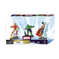 Monogram - Marvel Comics - Pack 3 mini figurines Set A 10 cm