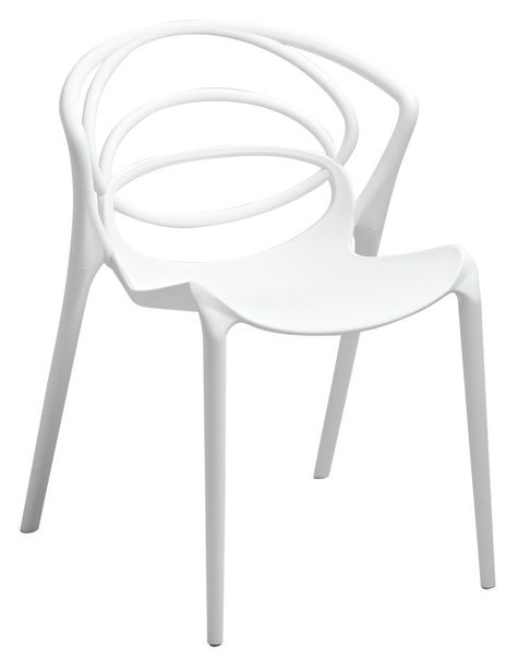 Lebrun Chaise blanche Digue