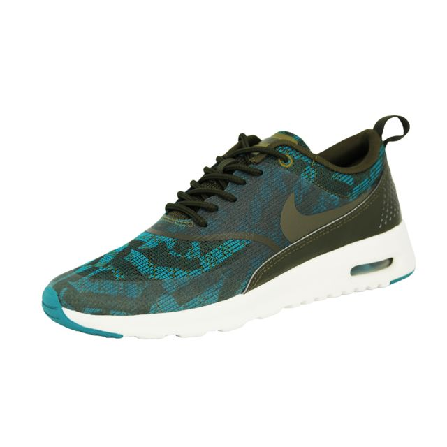 0754734ec16 Nike - Air Max Thea Kjcrd Chaussures Sneakers Mode Femme Vert - pas cher  Achat   Vente Baskets homme - RueDuCommerce