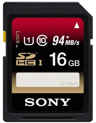 Carte mémoire SDHC 16 Go - Classe 10 - SF16UX
