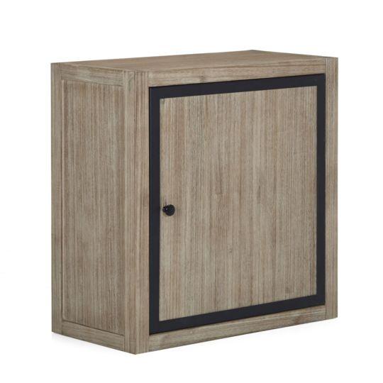 alin a lys meuble de cuisine haut 1 porte 60cm naturel pas cher achat. Black Bedroom Furniture Sets. Home Design Ideas