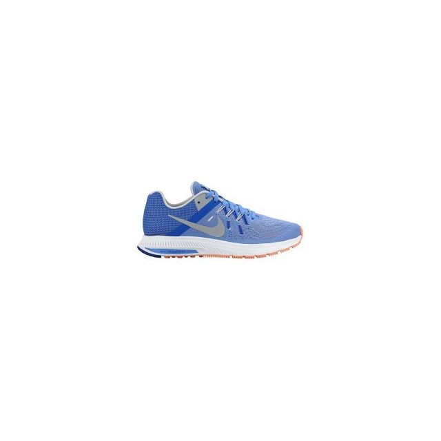 Nike Chaussures Zoom Winflo 2 bleu femme pas cher Achat   Vente